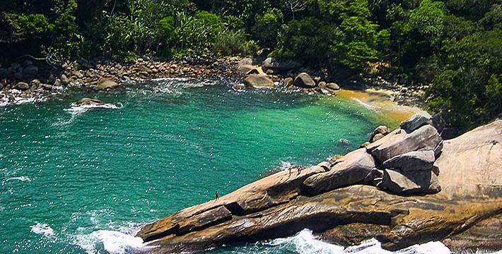 Fotos da Praia do Caxadaço - Ilha Grande - Angra dos Reis - RJ