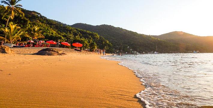 Praia Grande de Araçatiba - Ilha Grande - Angra dos Reis - RJ