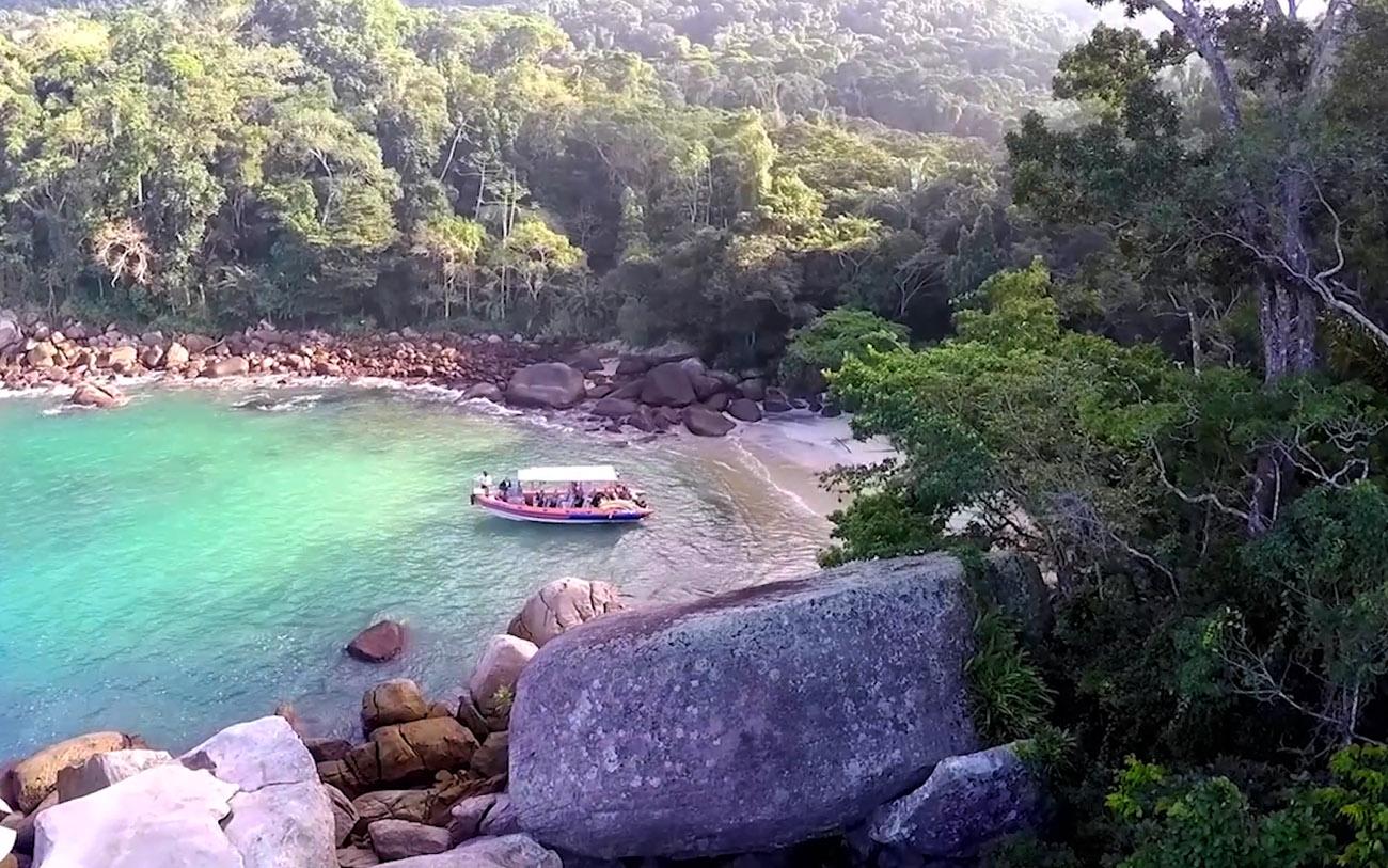 Praias Paradisíacas, Ilha Grande - Passeios Top Transfer - Caxadaço