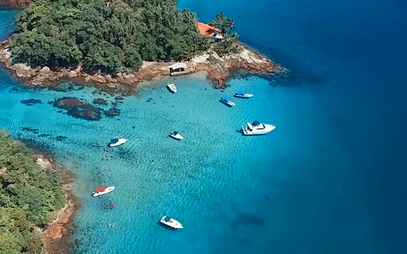 Praias Paradisíacas, Ilha Grande - Passeios Top Transfer - Lagoa Azul