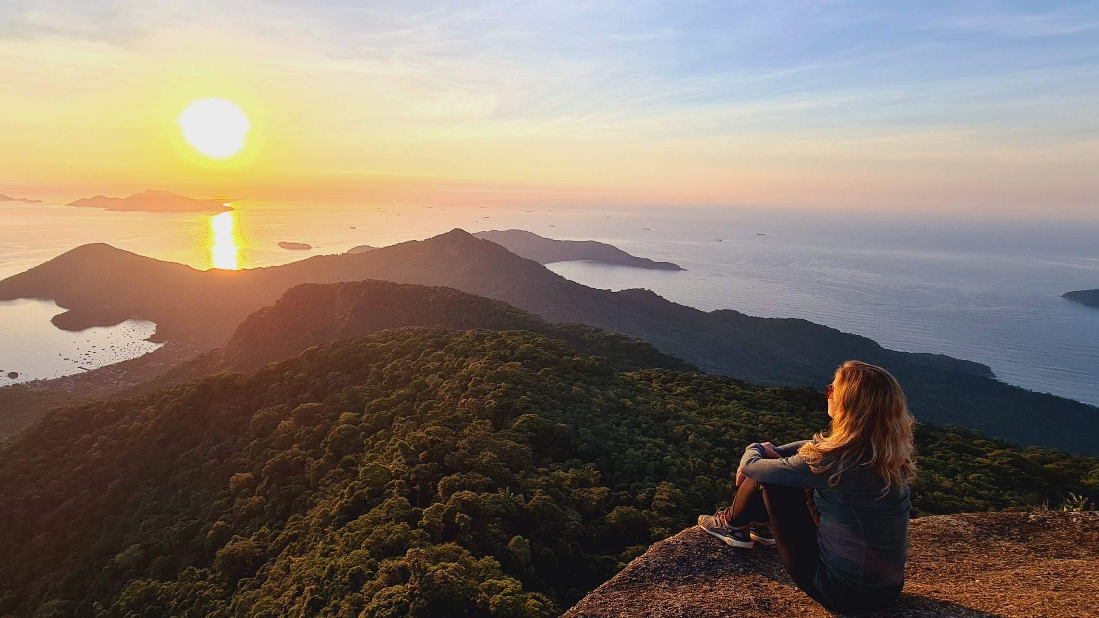 Pico do Papagaio, Ilha Grande – Rio de Janeiro